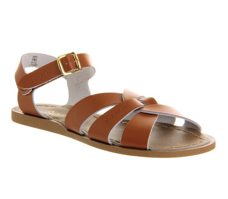 Salt Water Salt Water Original Tan Leather - Sandals