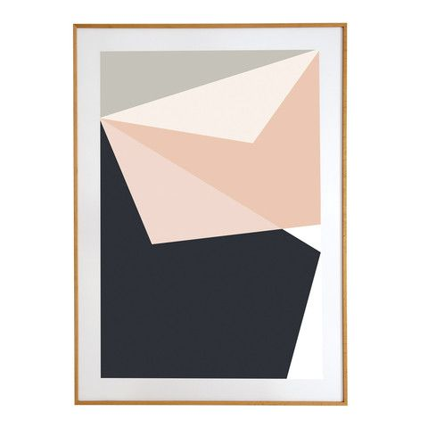 ABSTRACT ONE POSTER | BLACK