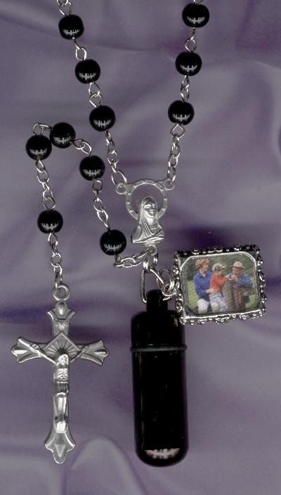 RosaryCremation JewelryMemorial UrnKeepsake UrnCremation