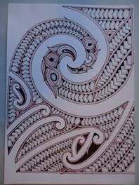 Maori Design Drawing