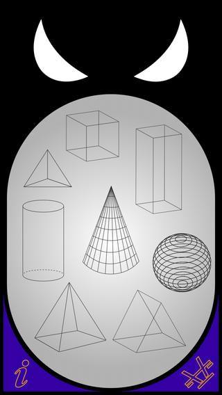 「Xvolume」 無料セール中! ー 平面や立体専用の計算機アプリです。