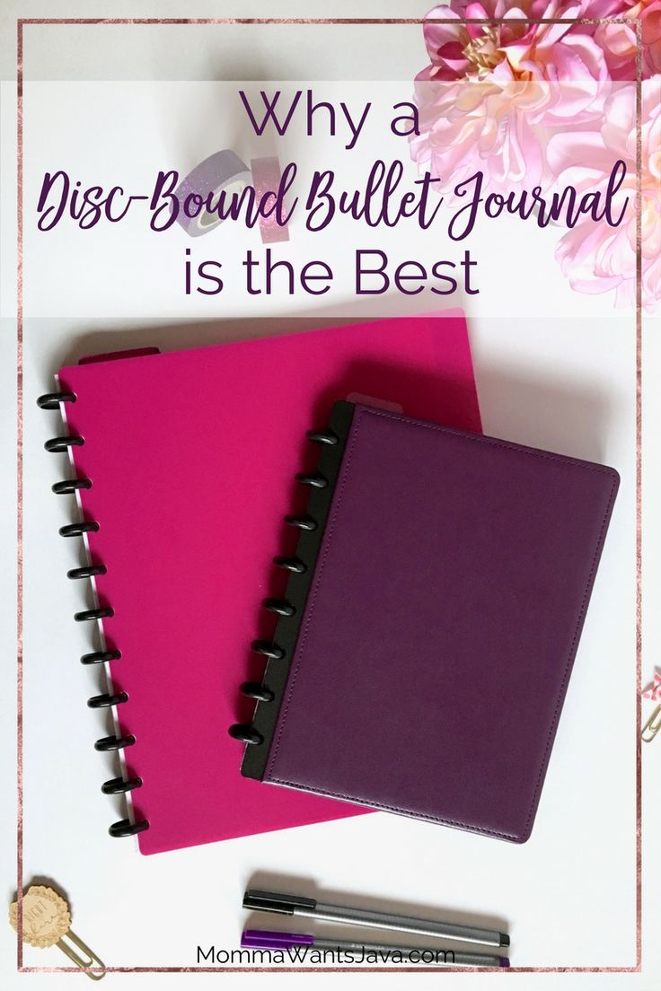 A disc-bound bullet journal gives you so many options for customizing your bullet journal notebook. Here are just a few reasons they're the best!