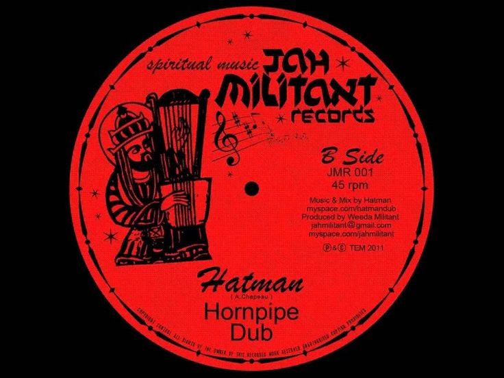 Hatman - Hornpipe Dub ( Spiritual Music by Jah Militant records)