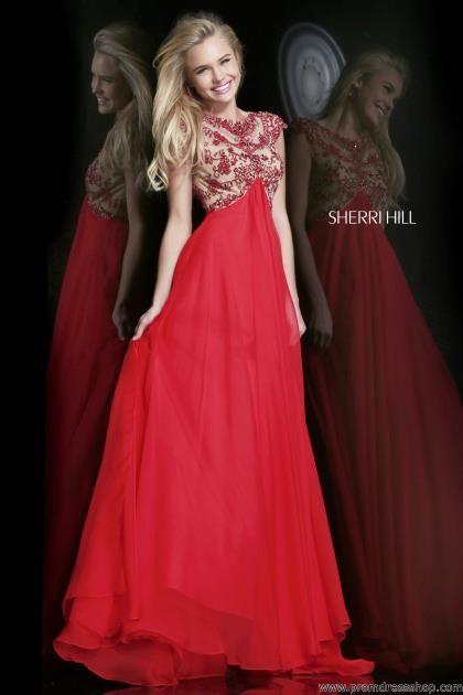 Sherri Hill Red Dress 21321