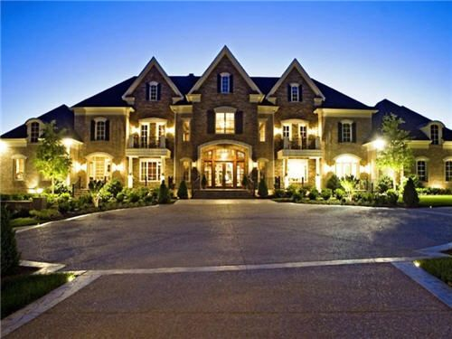 Best 20 big houses exterior ideas on pinterest for Huge home plans