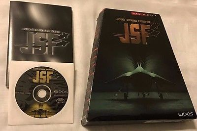 JSF Joint Strike Fighter (1998) RARE Eidos Trapezoid Big Box PC FREE SHIPPING!