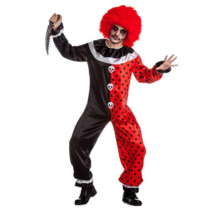 Déguisement Clown Diabolique Adulte #déguisementsadultes #costumespouradultes #nouveauté2016
