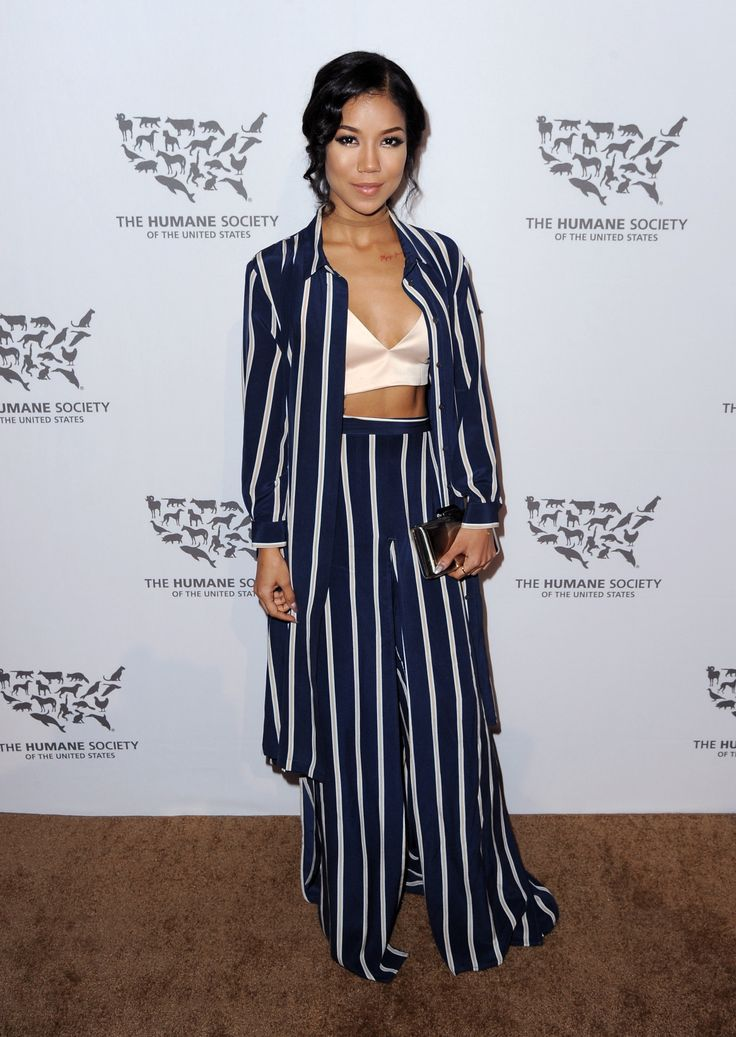 celebritiesofcolor: Jhene Aiko attends The Humane Society of the United States' to the Rescue Gala at Paramount Studios on May 7, 2016 in Hollywood, California.