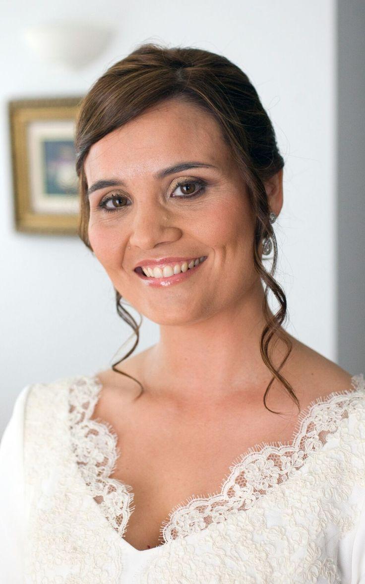 Maquillaje de novia (técnica con aerógrafo)