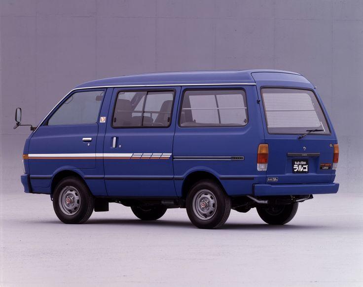 Nissan Cherry Vanette Largo Van (C120) '1982–86