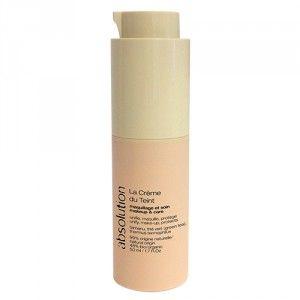 La Crème du Teint Absolution unifie, apaise, protège la peau. Une véritable crème 2 en 1: maquillage et soin. Plus de besoin de choisir entre BB et CC cream. Disponible sur Mademoiselle bio!