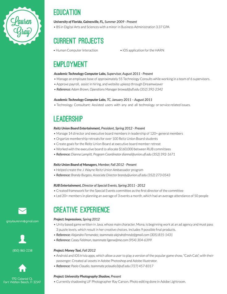 7 best resumes images on Pinterest Resume, Creative curriculum and - resume yeti