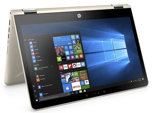 HP x360 Touch-Screen Laptop with Intel Core i3-7th Gen Processor