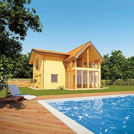 Wolf haus case prefabbricate medico 214 casa di legno for Haus case prefabbricate