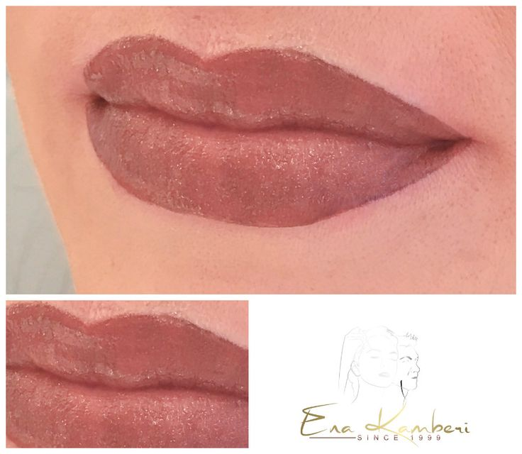 Lippen Permanent Make Up Vollschattierung