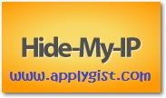 Hide my iP free 20 anonymous ip address for fast browsing  19th August 2016