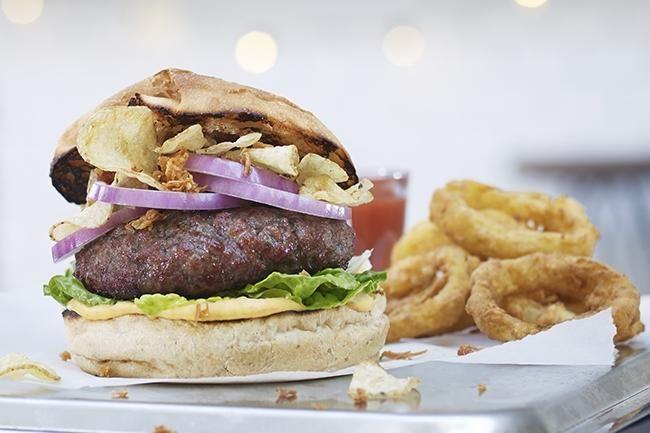 The Crunch hamburger
