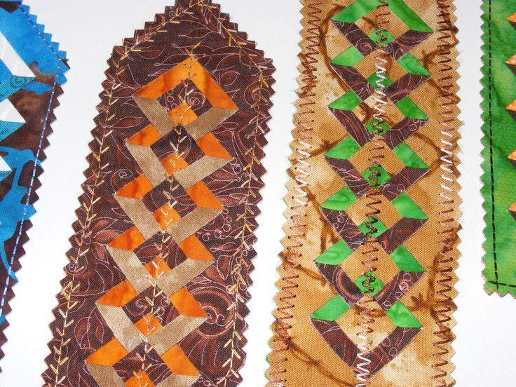 Double Diamond Ruler Bookmarks