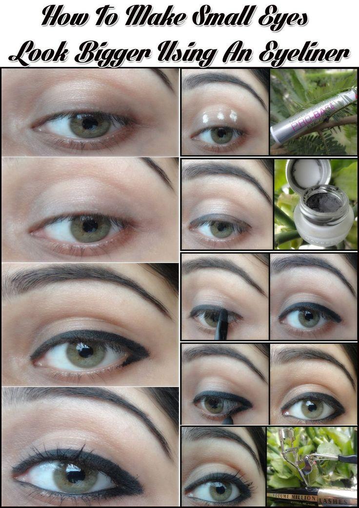 The 25+ best Eyeliner small eyes ideas on Pinterest | Eye makeup ...