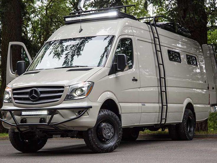 Bespoke Camping Van Brings Luxury To The Outdoors