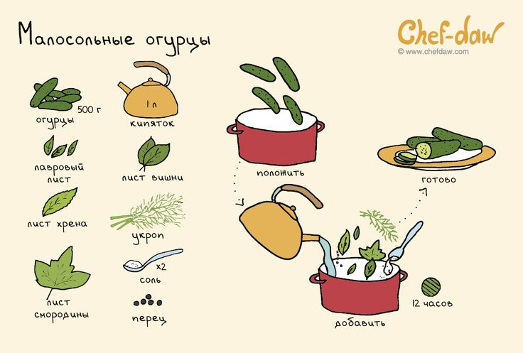 Малосольные огурцы - chefdaw