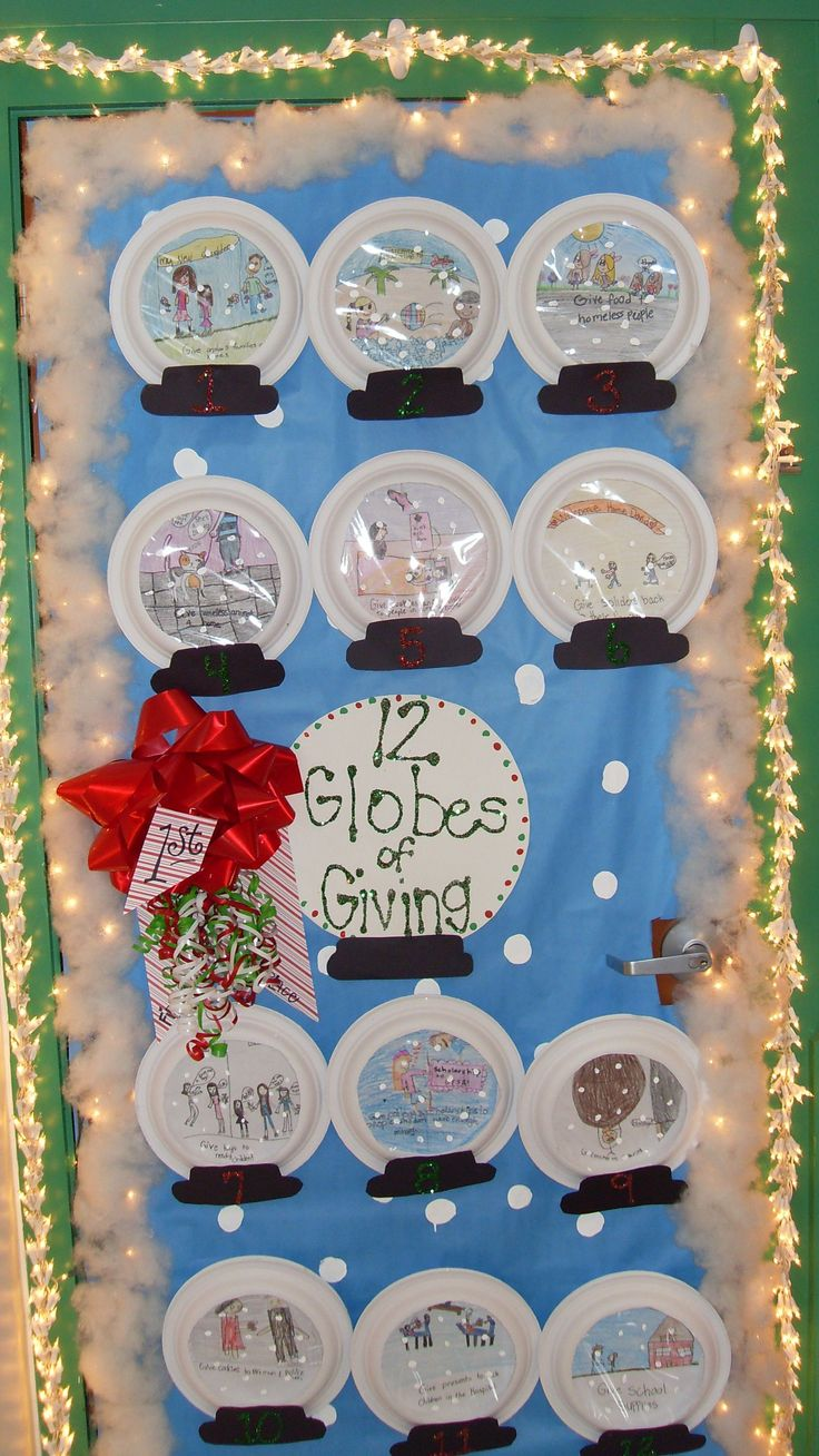 Christmas classroom door decoration ideas - Christmas Door Decorating Contest Winners Subscribe To This Comment Thread Leave This Field Empty