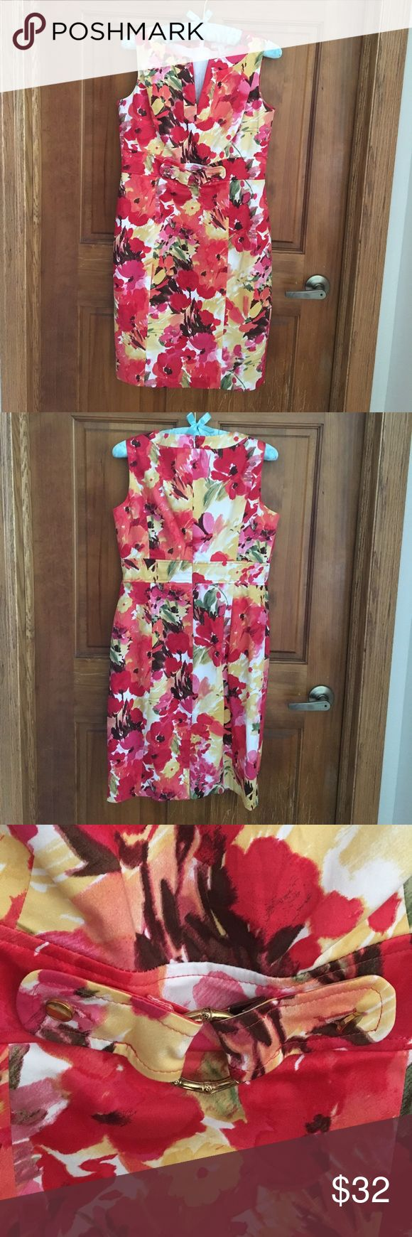 Charter Club Petite dress Floral pattern. Very lightly worn. Excellent condition. Non smoking home. Charter Club Dresses