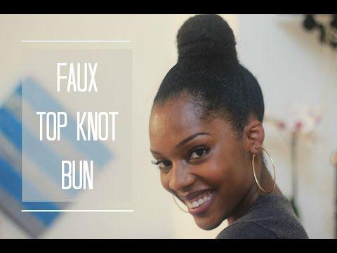 Best I Like BigBuns Images On Pinterest Protective - Big bun hairstyle youtube
