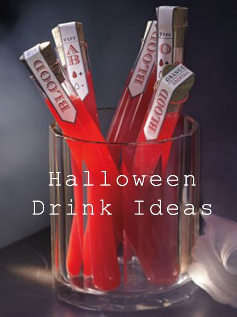 fun halloween drink ideas - Great Halloween Drinks