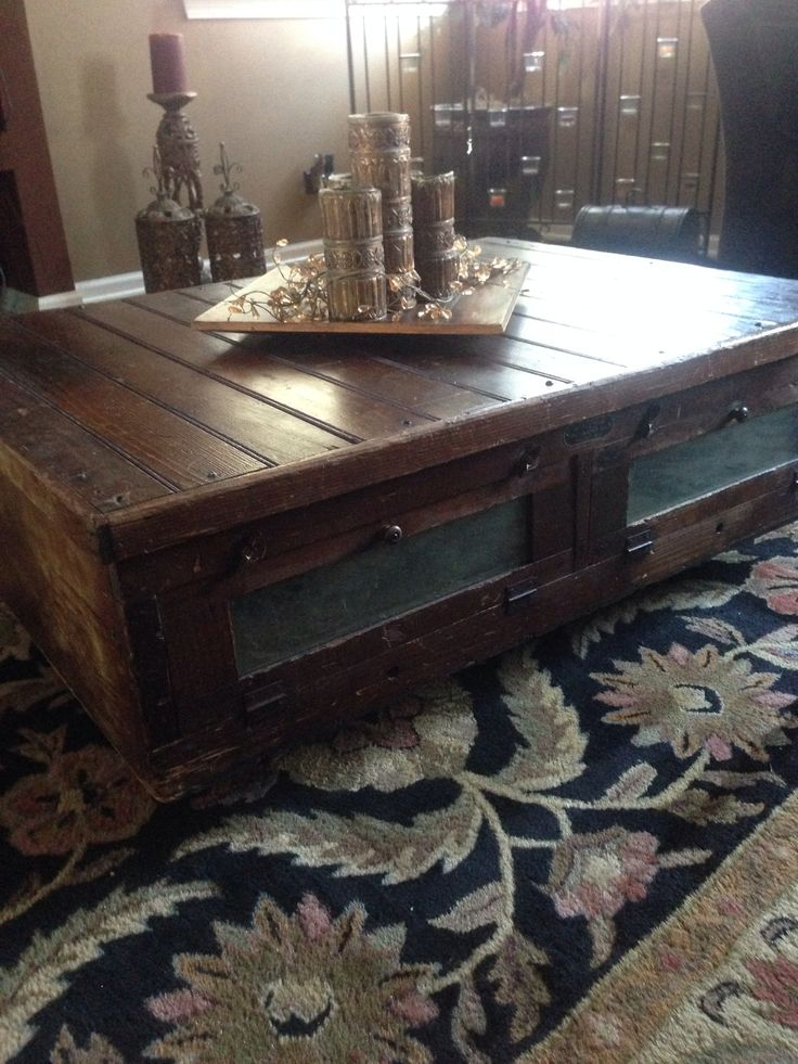 Chicken Incubator Converted To A Coffee Table Wisconsin