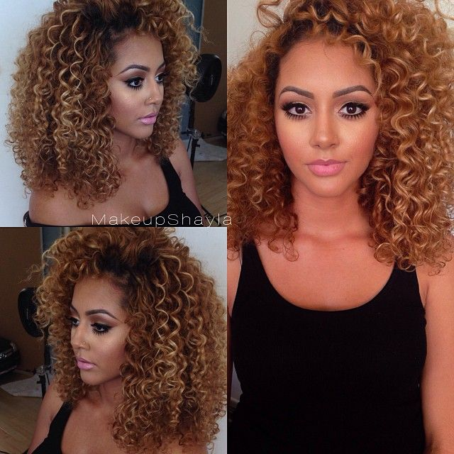 color curly hair