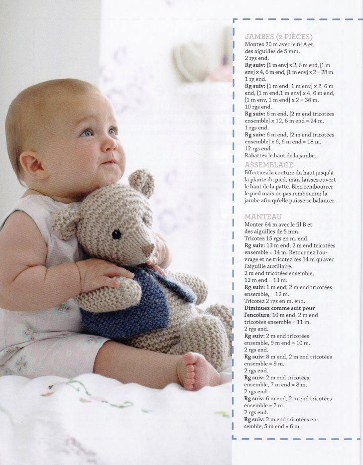 Image - IDÉES CADEAU....NOUNOURS AU TRICOT. - Blog de le-tricot-de-marcelle - Skyrock.com