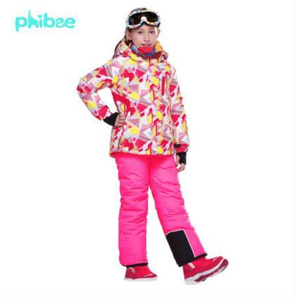 >> Click to Buy << Outdoor Clothes Kids Warm Ski Suit Winter girls Clothing Set Children Camouflage Skiing Jacket Bib Pants 2Pcs For Russian Winter #Affiliate