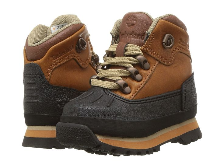 Timberland Kids Euro Hiker Shell Toe (Toddler/Little Kid) Kid's Shoes Claypot