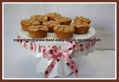 Apple Streusel Tart Recipe