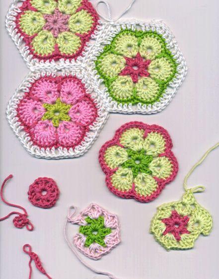 Crochet: African Flower