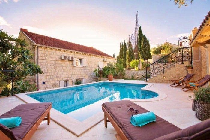 luxus pool idee für garten pools | luxuriöse designs von pool, Garten und Bauten
