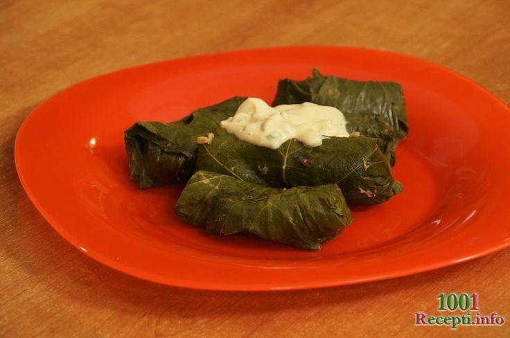 Рецепт-Долма с листьями винограда | Постные блюда