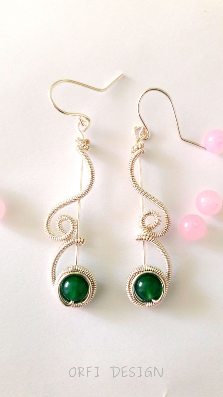 wire earings