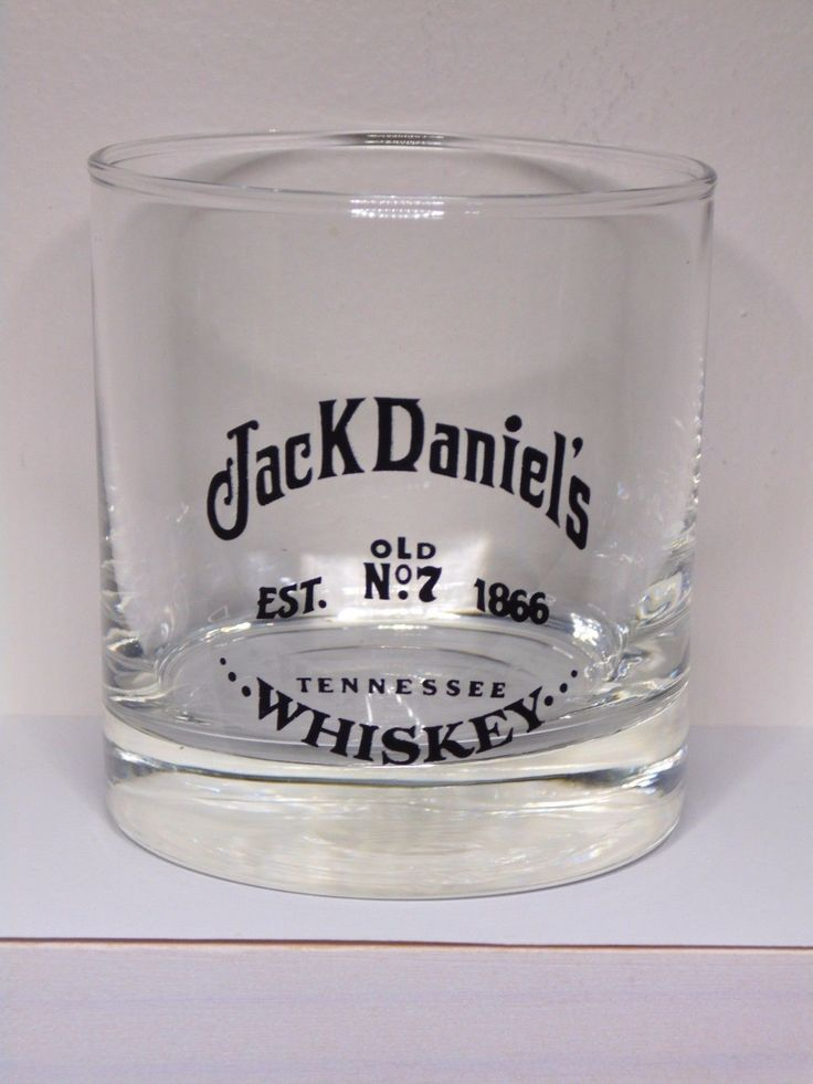Vintage Jack Daniels Old No 7 Est 1866 Tennessee Whiskey Glass