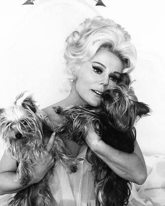 Eva Gabor and friends