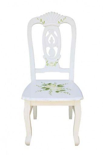 Vintage stolička Kvety 1 - Najlepsinabytok.sk - Doprava ZDARMA!