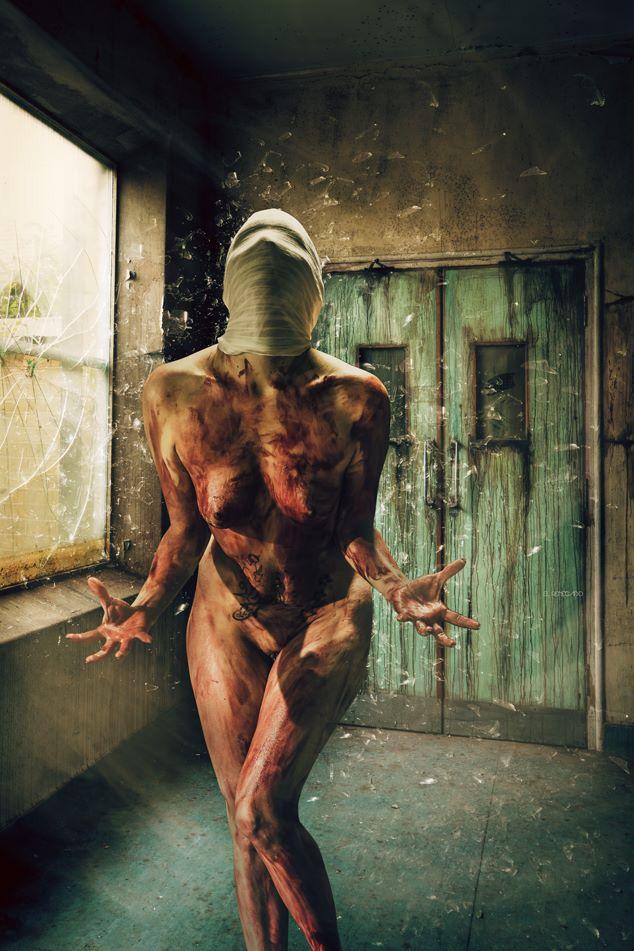 #horror #skin #blood