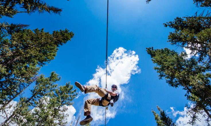 Zipline Adventure Tours   Angel Fire Resort New Mexico