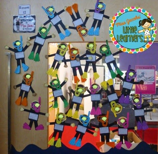 Five for Friday Linky: Under the Sea! by Miss Jacobs Little Learners