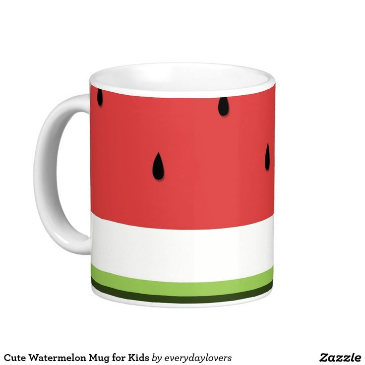 Cute Watermelon Mug for Kids