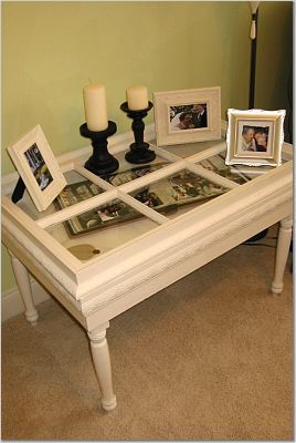 old window = shadow box coffee tableCoffee Tables, Shadowbox, Windows Tables, Upcycling Projects, Old Windows, Projects Ideas, Shadows Boxes, Project Ideas, Old Doors