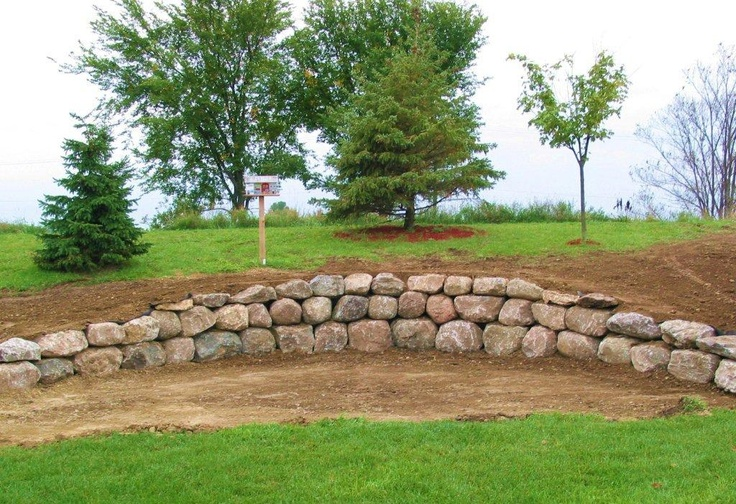 Landscape Boulders Georgia : Best images about retainer wall boulders outcroppings