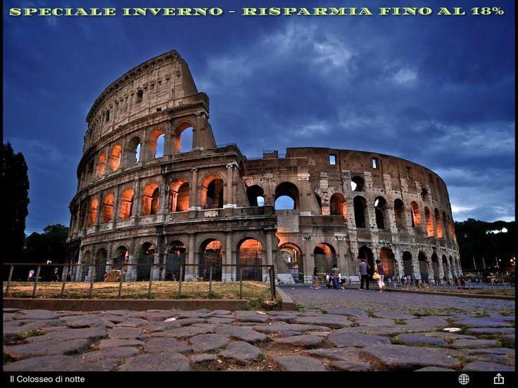 #Risparmia fino al 18% con la nostra #Offerta speciale inverno! Min. 2 notti - Include: colazione a buffet, wifi, drink gratuito, mappa, libro guida di Roma.