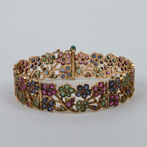 40s Flower Basket Jeweled now featured on Fab.